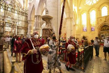 Entrega simbólica del Pendón de Alfonso VIII al Ayuntamiento
