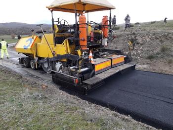 Obras de mejora de la PP-216 entre Vergaño y Vallespinoso