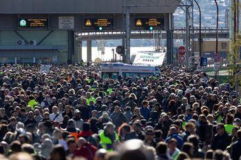 Protestas en Italia ante la obligatoriedad del 'green pass'