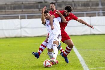 El Atlético Albacete se agarró a su buena puntería
