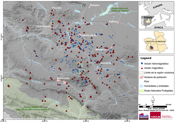 Los más de 350 volcanes de la provincia de Ciudad Real