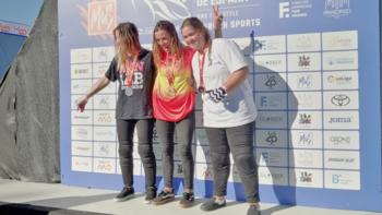Fernández-Miranda, campeona de España de BMX Freestyle Park