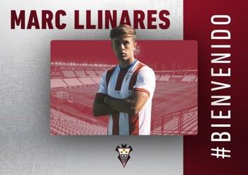 Anuncio del fichaje de Marc Llinares por el Albacete.