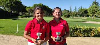 Dos oros regionales de las hermanas Carlón