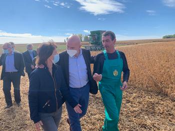 Carnero señala que la soja 'diversificará los cultivos'