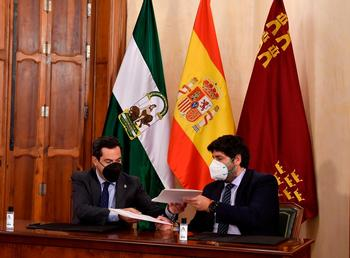 El presidente valenciano no tomó parte, pues rechaza «las guerras del agua» de la derecha