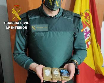 Dos detenidos por tráfico de drogas en Mondéjar