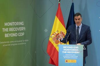 Sánchez defiende el compromiso de derogar la reforma laboral