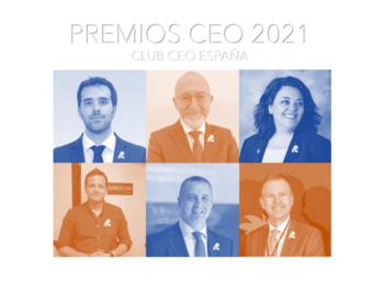 Miguel Antona y Rocío Ruiz, premios nacionales CEO del Año