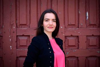 La fotógrafa segoviana María Senovilla participa en el archivo covid que ha reunido la Universidad de Alcalá.