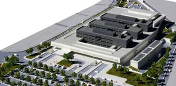 El futuro hospital tendrá un aparcamiento subterráneo