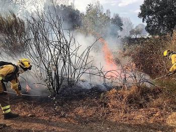 UGT alerta de la pérdida de efectivos contra los incendios