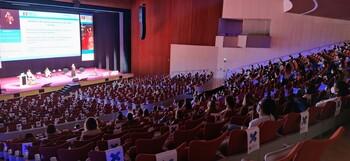 Clausura del congreso de la Sociedad Española de Contracepción, que se ha celebrado esta semana en el Fórum Evolución.