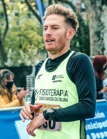 David García venció en la Media Maratón de Valladolid
