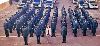 El 90% de los nuevos guardias civiles, a Seguridad Ciudadana