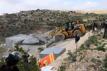 Más de 200 palestinos heridos por fuego israelí en Cisjordania