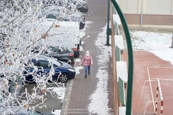 La ola de frío instala a la ciudad en temperaturas bajo cero