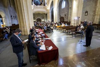 Martín Laguna y Montserrat, premio en el concurso de órgano