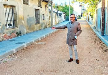 Obras descarta que la calle de las Once Paradas se encharque