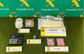 La Guardia Civil interviene 4.000 dosis de droga en Íscar