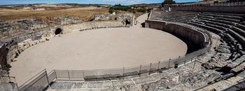 El anfiteatro romano de Toledo es similar al de Segóbriga