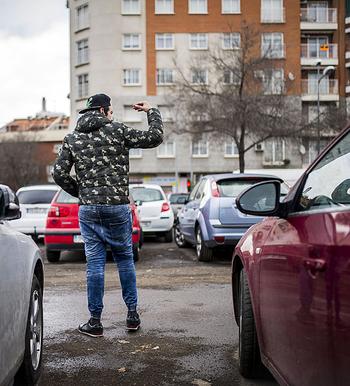 Los 'gorrillas' vuelven a las calles de la ciudad
