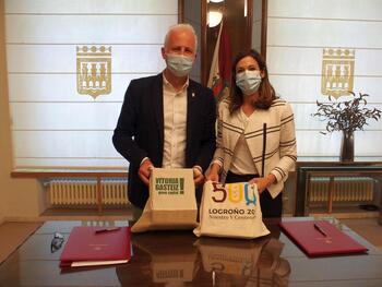 Logroño y Vitoria impulsarán el turismo recíproco