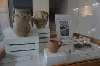 El Museo de Burgos expone los restos arqueológicos encontrados este verano en las obras de Las Llanas.