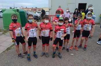 Corredores del equipo MP-Racing Maquivi, en una prueba anterior.