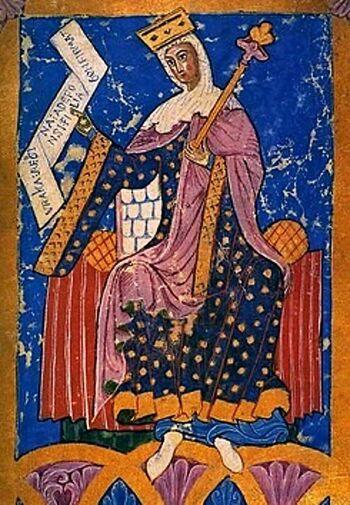 La primera reina de la Historia de España