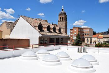 Concluye la reparación de la cubierta del Ayuntamiento