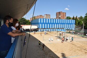 Talavera celebró el regional de vóley playa en cuatro pistas