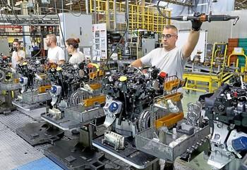 Fábrica de Motores en Renault.