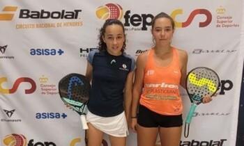 La cabanillera Águeda Pérez es campeona de España de pádel