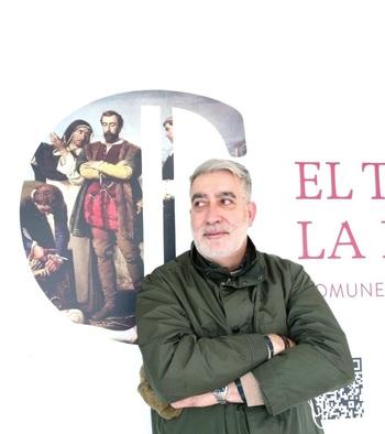 Conferencia de José M. Nieto Vigil en Fuentes de Valdepero