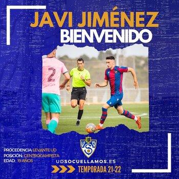 Javi Jiménez llega cedido al Socuéllamos
