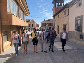Concluye la urbanización del casco histórico de Villalar