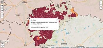 Declarados veinte nuevos brotes en 13 localidades de Segovia