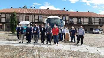 Bono transporte gratuito en 47 pueblos de la zona de Arévalo