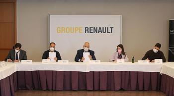 Renault y UGT, CCOO y SCP firman el convenio colectivo