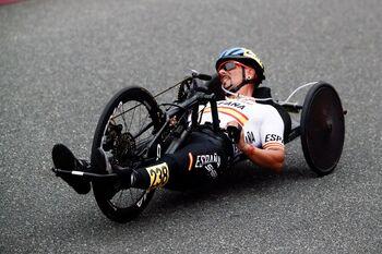 Sergio Garrote suma otro bronce en la prueba en línea