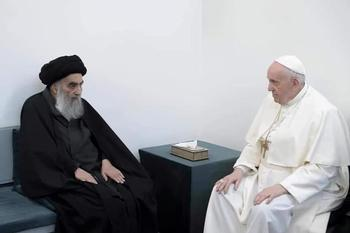 El Papa se reúne en Irak con el ayatolá Al Sistani