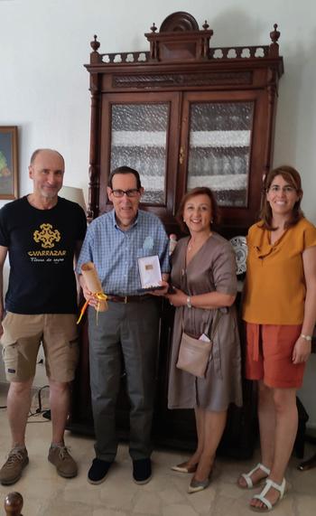 Guadamur nombra Cabellero Visigodo de Honor a Luis Balmaseda