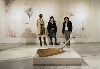 Las exposiciones de la Diputación reciben 10.000 visitantes