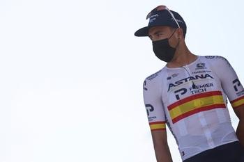 Omar Fraile abandona La Vuelta por problemas de espalda