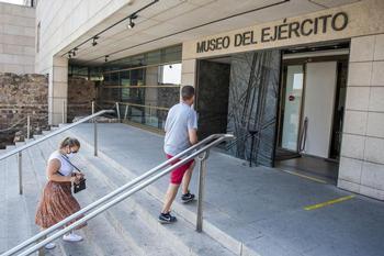 Los museos como el del Ejército podrán abrir al 50%.