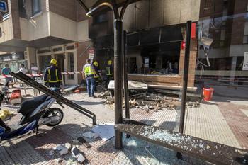 Explosión de gas en un kebab sin registrar daños personales