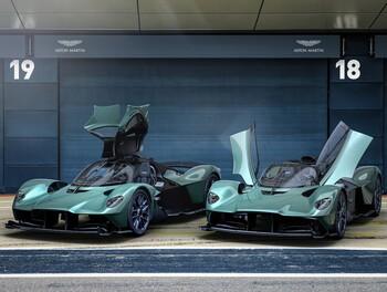 Aston Martin presenta el Valkyrie Spider