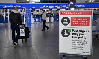 Inglaterra elimina la cuarentena a vacunados de la UE y de EEUU