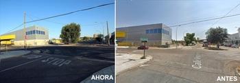 Completada la intersección de las calles Jarama y Ventalomar
